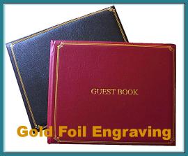 Gold Foil Engraving