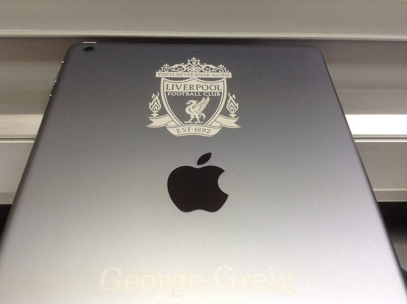 Marlowe Cleaners Ipad And Iphone Personalised With Laser